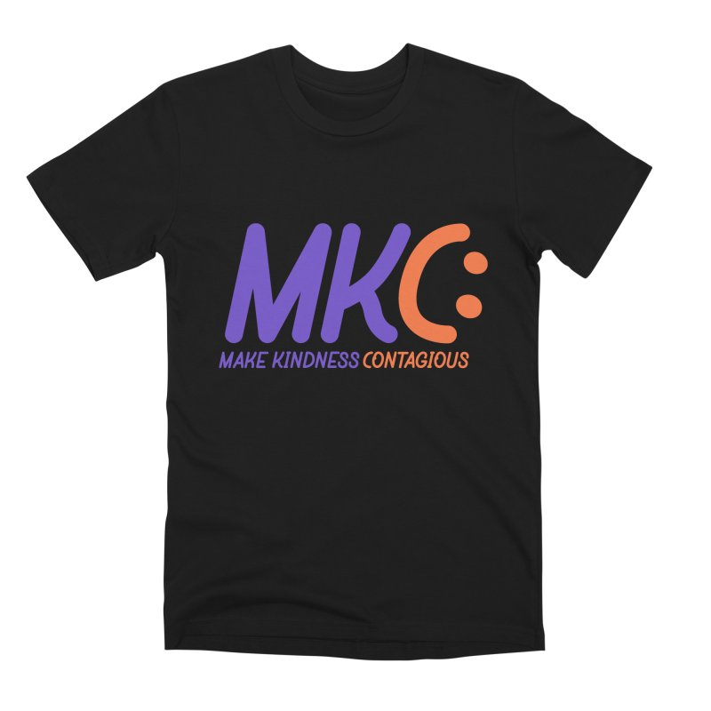 MKC Logo Apparel and Accessories Men's Premium T-Shirt by MakeKindnessContagious's Artist Shop