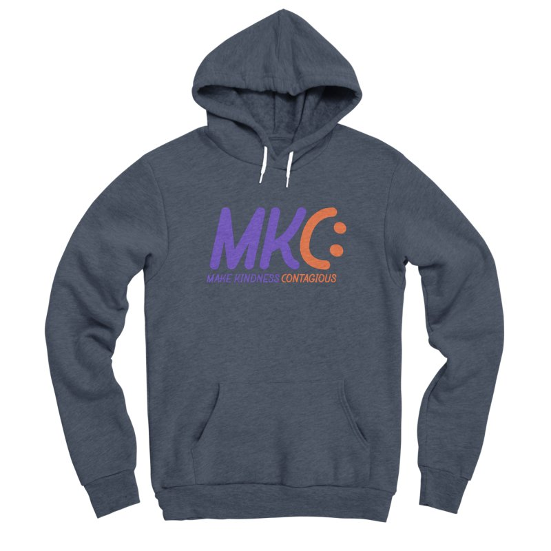 MKC Logo Apparel and Accessories Women's Sponge Fleece Pullover Hoody by MakeKindnessContagious's Artist Shop