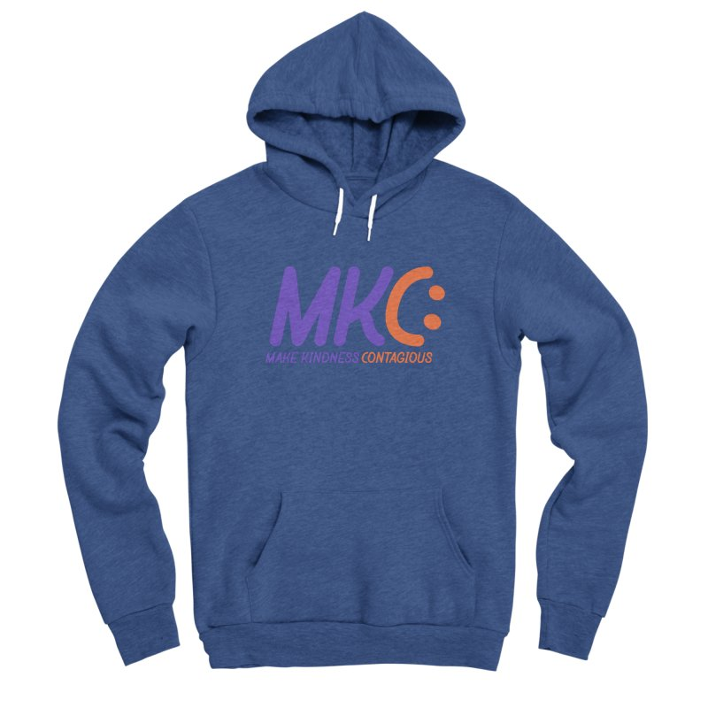 MKC Logo Apparel and Accessories Men's Sponge Fleece Pullover Hoody by MakeKindnessContagious's Artist Shop
