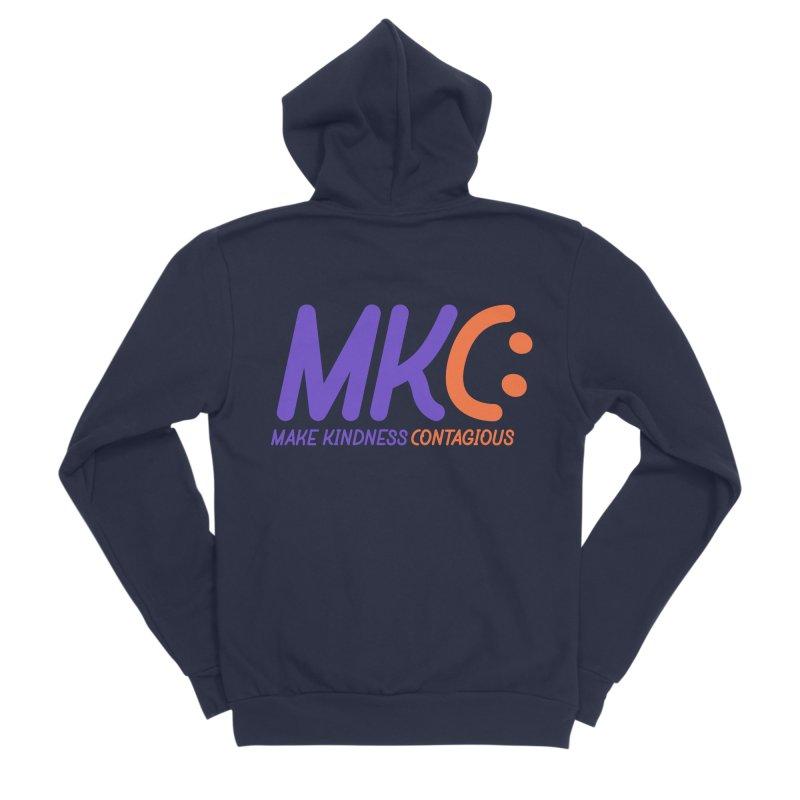 MKC Logo Apparel and Accessories Men's Sponge Fleece Zip-Up Hoody by MakeKindnessContagious's Artist Shop
