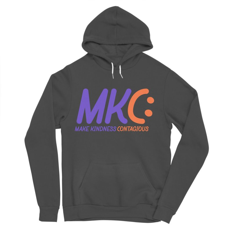 MKC Logo Apparel and Accessories Men's Sponge Fleece Pullover Hoody by MakeKindnessContagious's Artist Shop