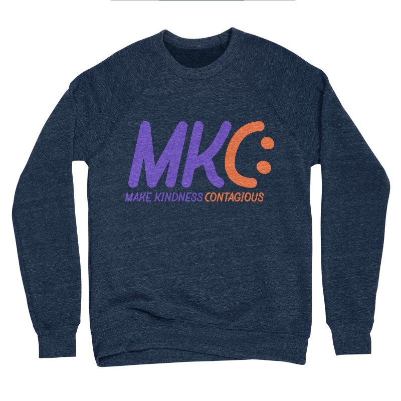 MKC Logo Apparel and Accessories Men's Sponge Fleece Sweatshirt by MakeKindnessContagious's Artist Shop
