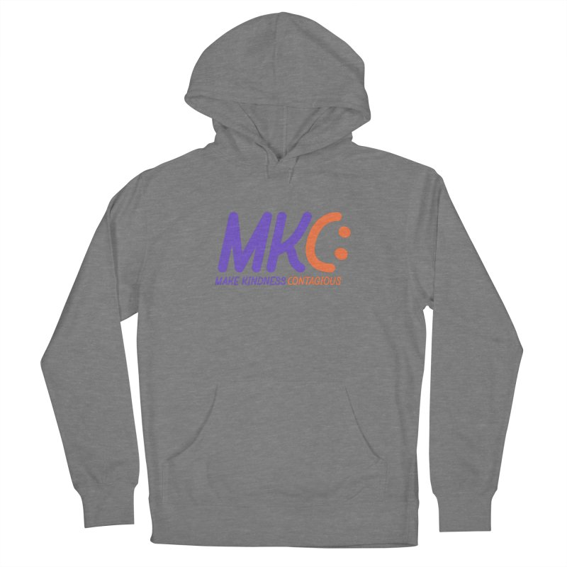 MKC Logo Apparel and Accessories Men's French Terry Pullover Hoody by MakeKindnessContagious's Artist Shop