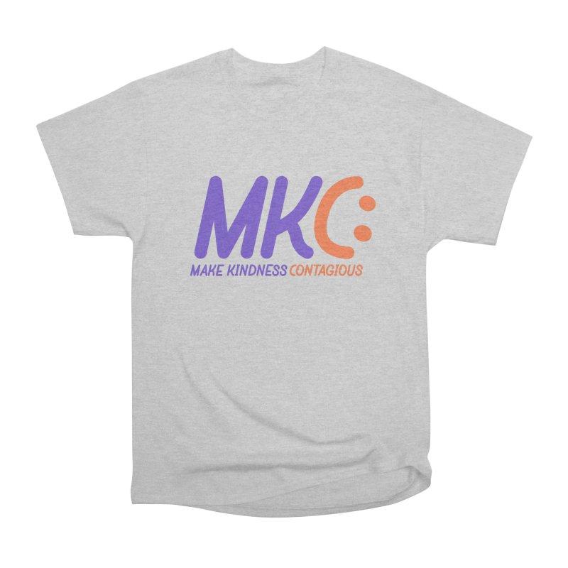 MKC Logo Apparel and Accessories Women's Heavyweight Unisex T-Shirt by MakeKindnessContagious's Artist Shop