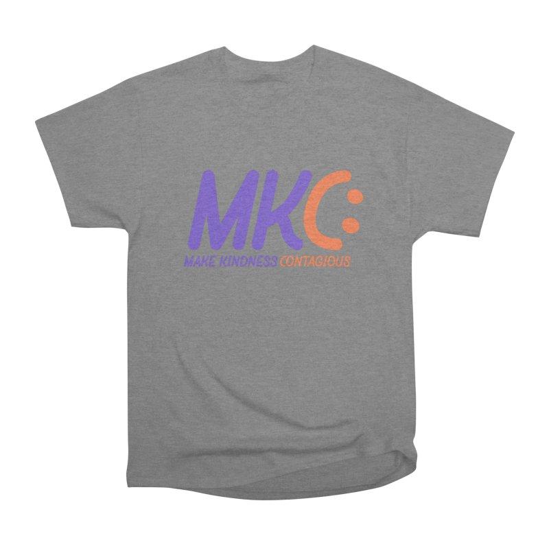 MKC Logo Apparel and Accessories Men's Heavyweight T-Shirt by MakeKindnessContagious's Artist Shop