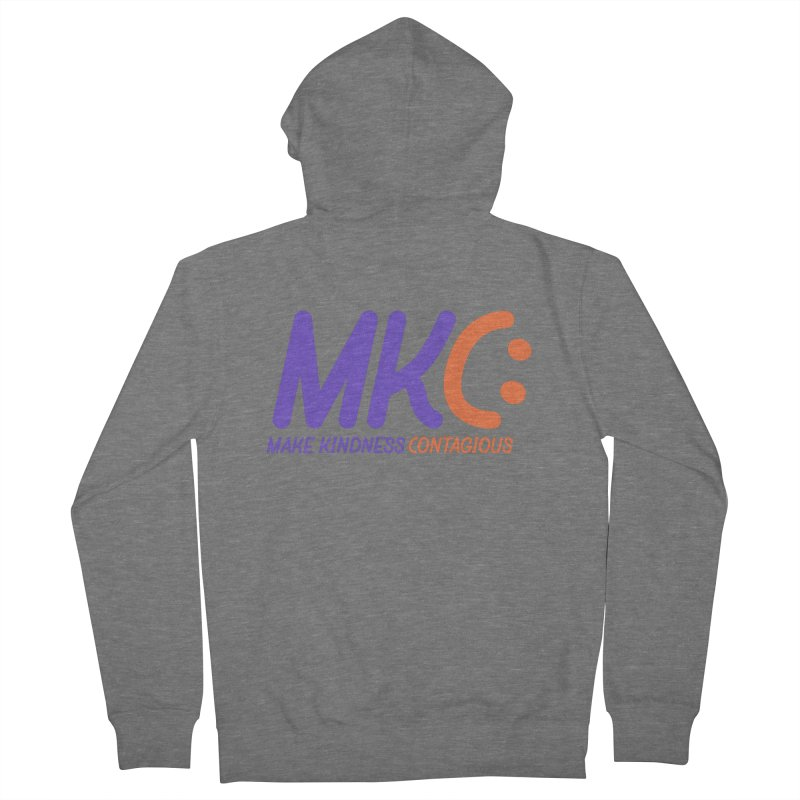 MKC Logo Apparel and Accessories Men's French Terry Zip-Up Hoody by MakeKindnessContagious's Artist Shop