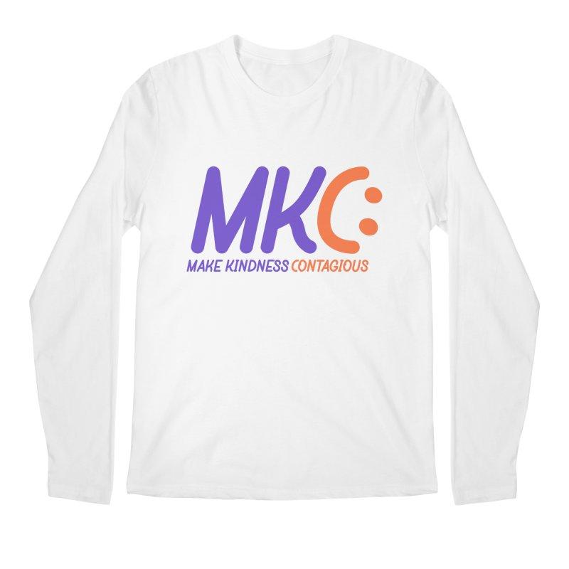 MKC Logo Apparel and Accessories Men's Regular Longsleeve T-Shirt by MakeKindnessContagious's Artist Shop