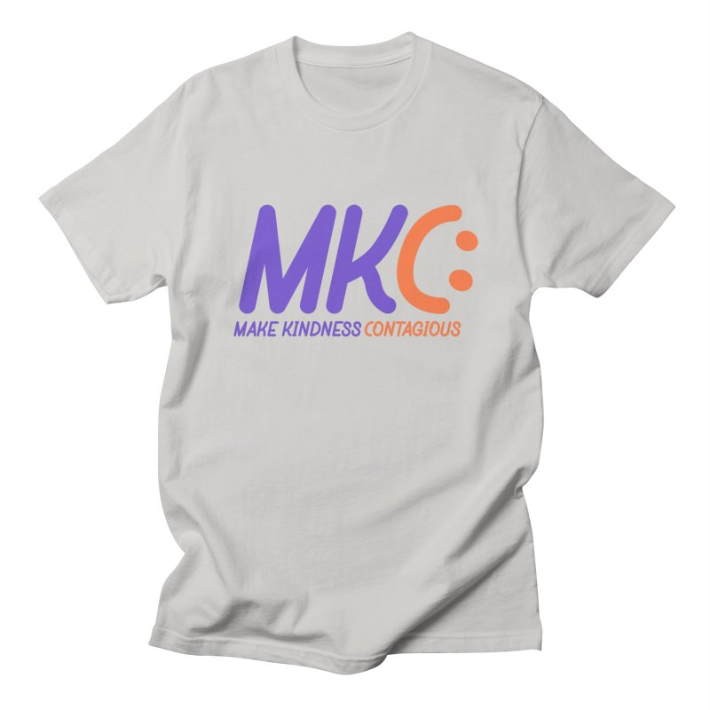 MKC Logo Apparel and Accessories Men's Regular T-Shirt by MakeKindnessContagious's Artist Shop