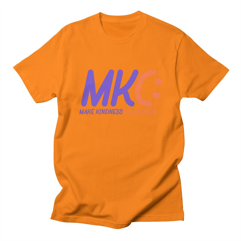 MKC Logo Apparel and Accessories Women's Regular Unisex T-Shirt by MakeKindnessContagious's Artist Shop