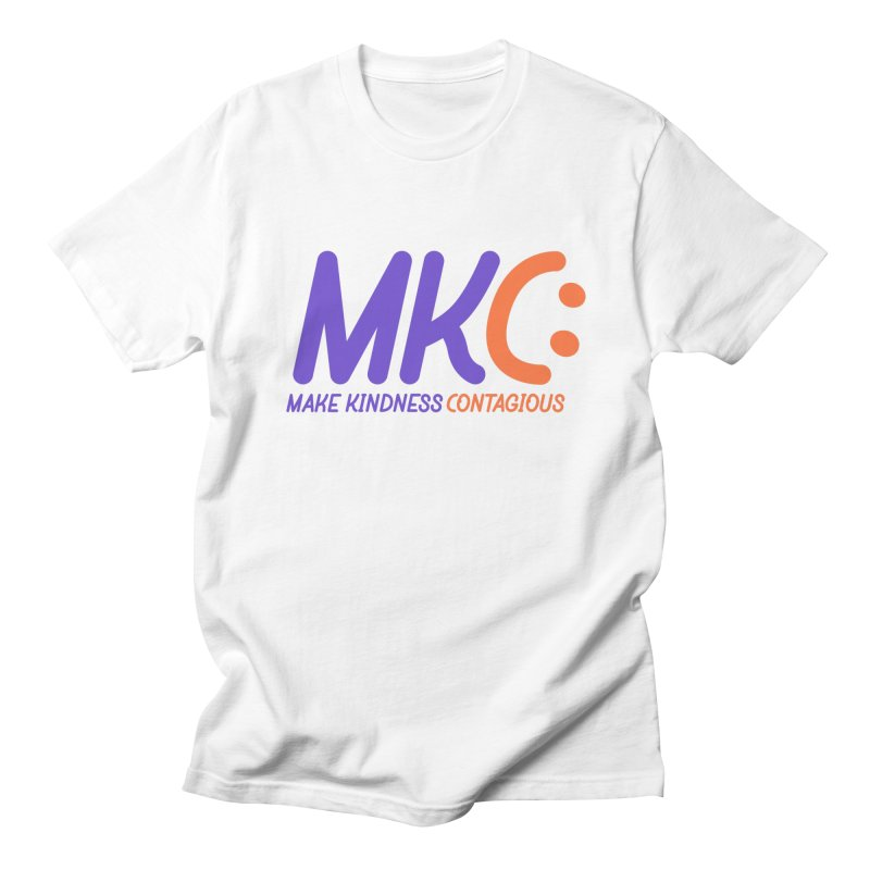 MKC Logo Apparel and Accessories Men's Regular T-Shirt by MakeKindnessContagious's Artist Shop
