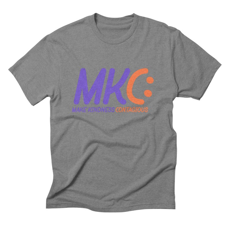 MKC Logo Apparel and Accessories Men's Triblend T-Shirt by MakeKindnessContagious's Artist Shop