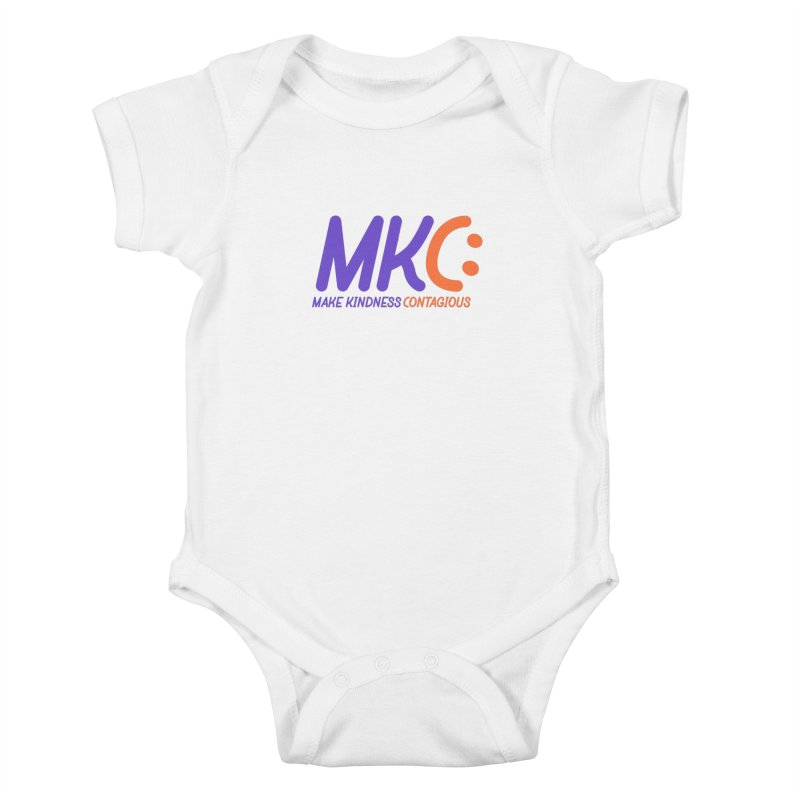 MKC Logo Apparel and Accessories Kids Baby Bodysuit by MakeKindnessContagious's Artist Shop