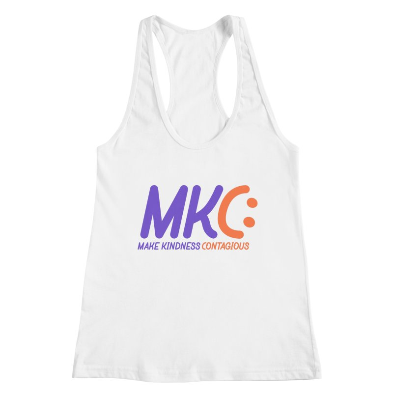 MKC Logo Apparel and Accessories Women's Racerback Tank by MakeKindnessContagious's Artist Shop