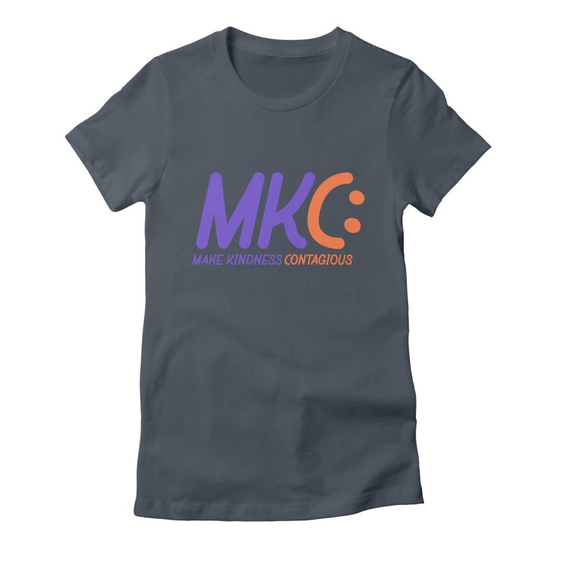 MKC Logo Apparel and Accessories Women's T-Shirt by MakeKindnessContagious's Artist Shop