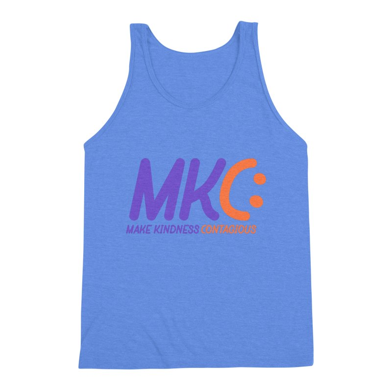 MKC Logo Apparel and Accessories Men's Triblend Tank by MakeKindnessContagious's Artist Shop