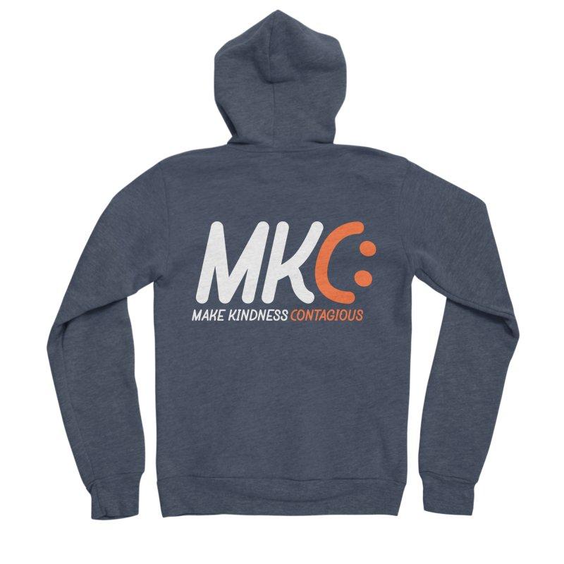 MKC Black Label Men's Sponge Fleece Zip-Up Hoody by MakeKindnessContagious's Artist Shop