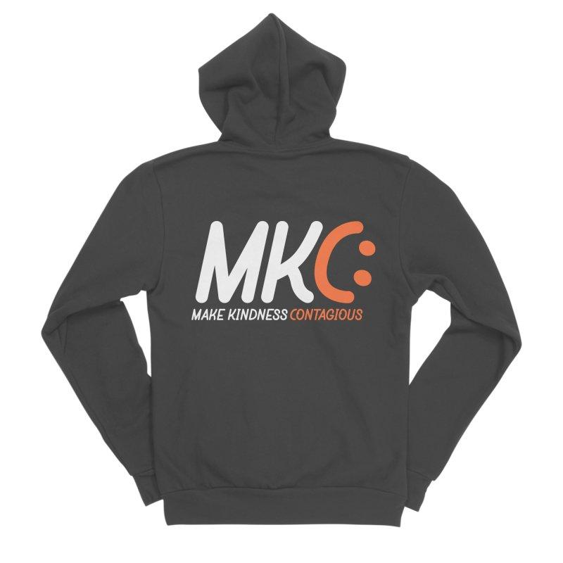 MKC Men's Sponge Fleece Zip-Up Hoody by MakeKindnessContagious's Artist Shop