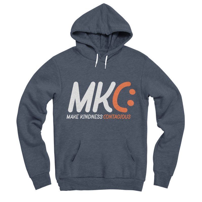 MKC Black Label Men's Sponge Fleece Pullover Hoody by MakeKindnessContagious's Artist Shop