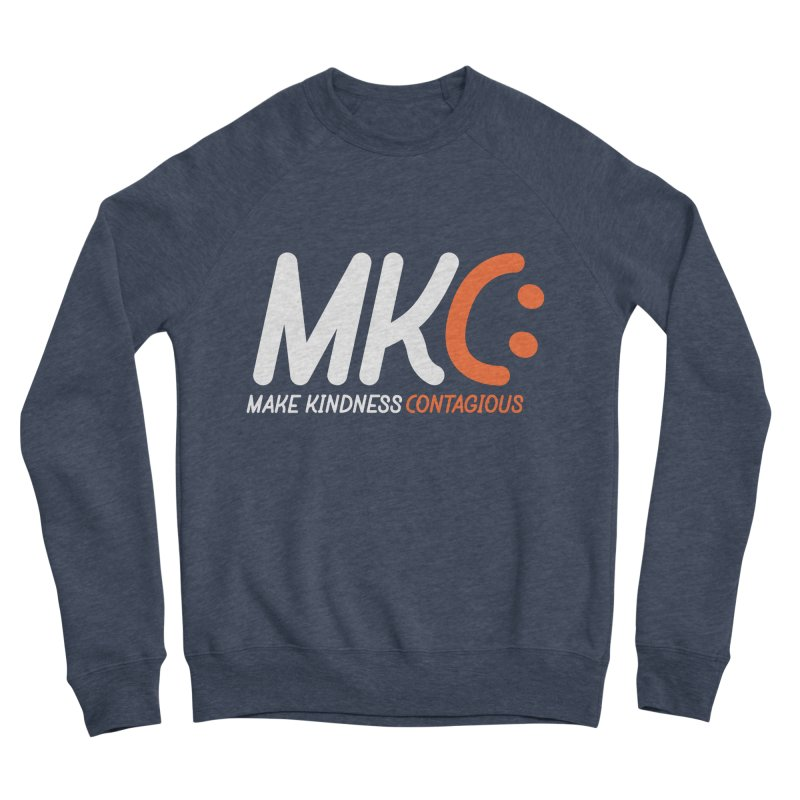 MKC Black Label Men's Sponge Fleece Sweatshirt by MakeKindnessContagious's Artist Shop