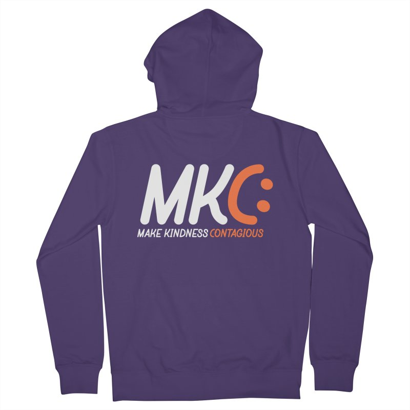 MKC Women's Zip-Up Hoody by MakeKindnessContagious's Artist Shop