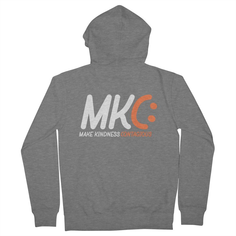 MKC Men's Zip-Up Hoody by MakeKindnessContagious's Artist Shop