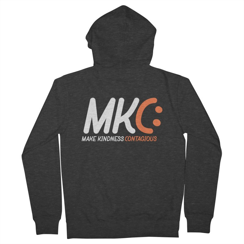 MKC Black Label Men's French Terry Zip-Up Hoody by MakeKindnessContagious's Artist Shop