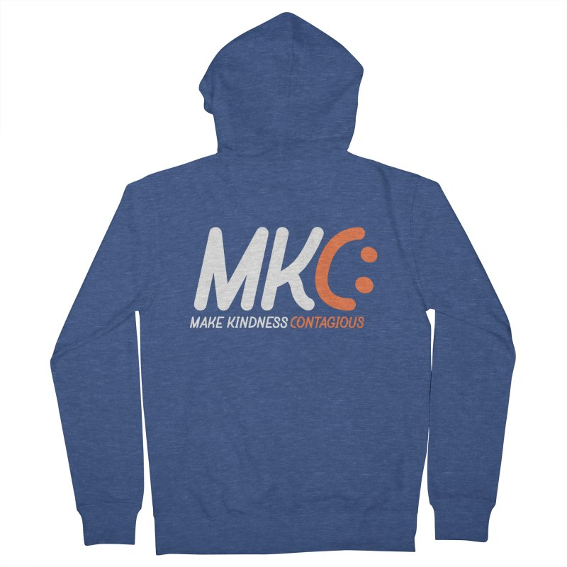 MKC Men's French Terry Zip-Up Hoody by MakeKindnessContagious's Artist Shop