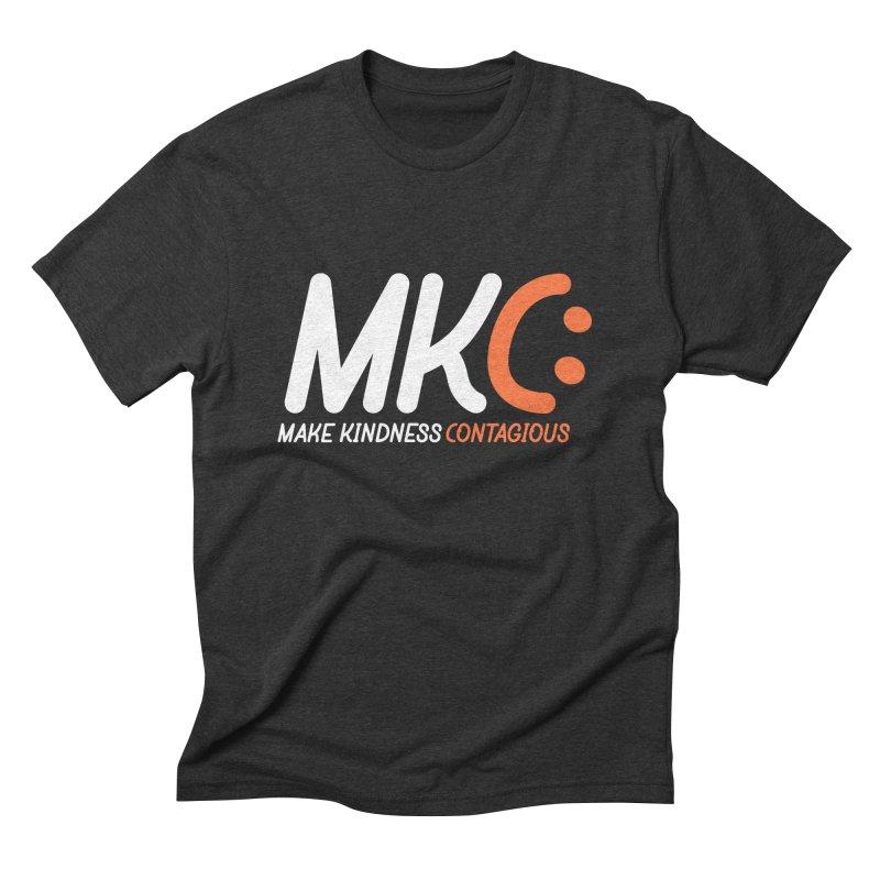 MKC Men's Triblend T-Shirt by MakeKindnessContagious's Artist Shop