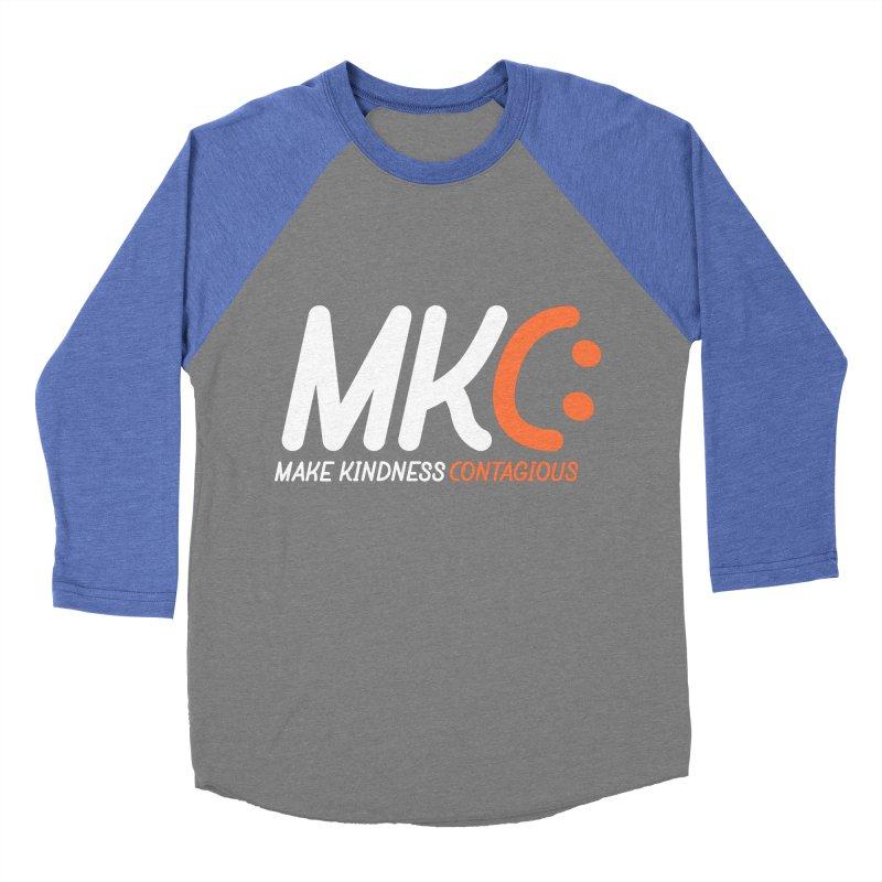 MKC Black Label Men's Baseball Triblend Longsleeve T-Shirt by MakeKindnessContagious's Artist Shop