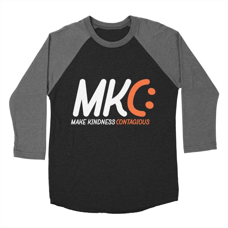 MKC Men's Baseball Triblend Longsleeve T-Shirt by MakeKindnessContagious's Artist Shop