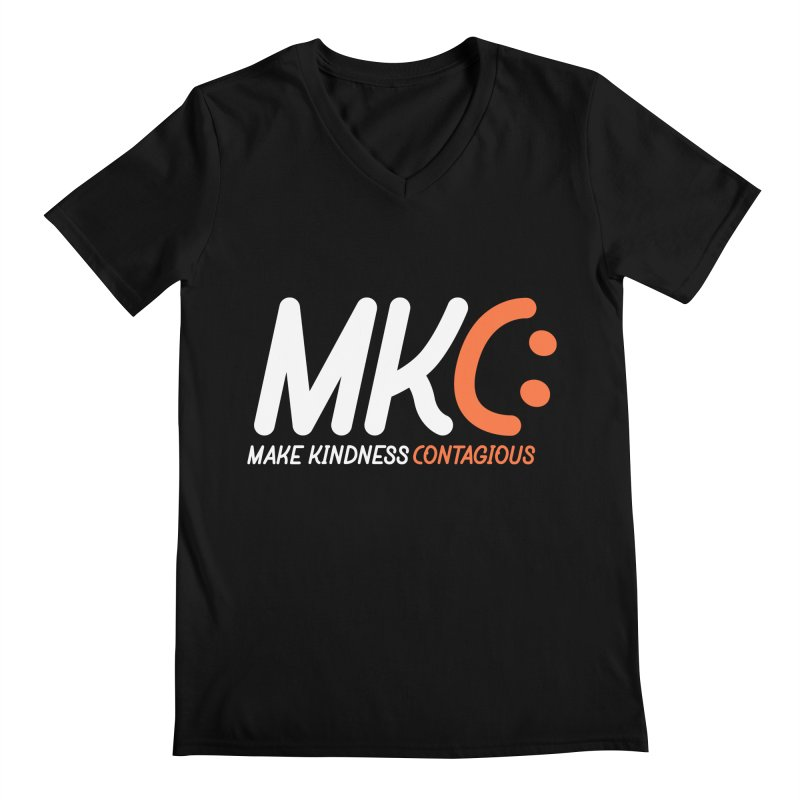 MKC Men's Regular V-Neck by MakeKindnessContagious's Artist Shop