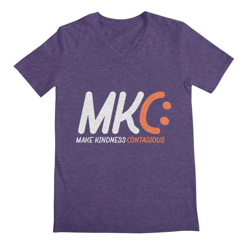 MKC Men's V-Neck by MakeKindnessContagious's Artist Shop