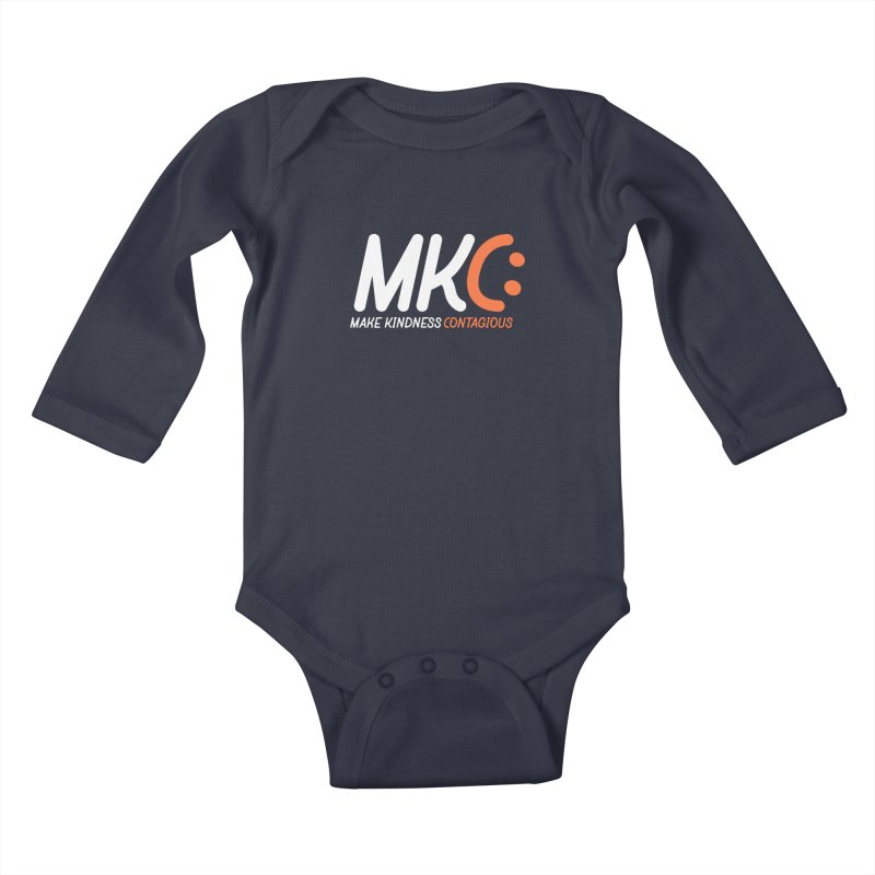MKC Kids Baby Longsleeve Bodysuit by MakeKindnessContagious's Artist Shop