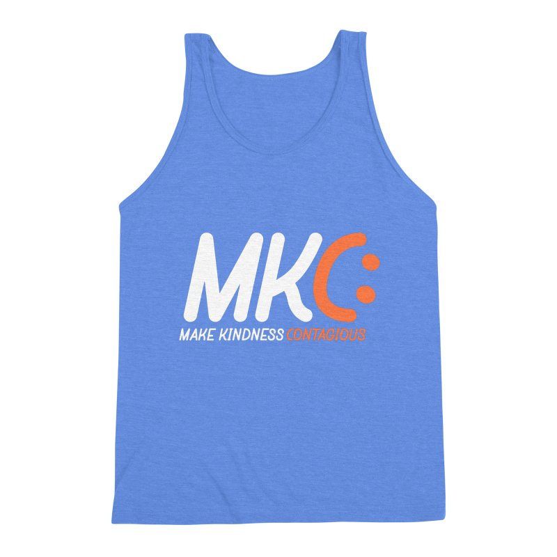 MKC Men's Triblend Tank by MakeKindnessContagious's Artist Shop