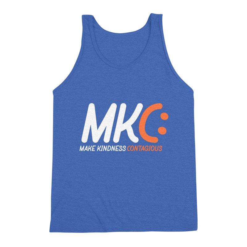 MKC Men's Triblend Tank by MakeKindnessContagious's Artist Shop