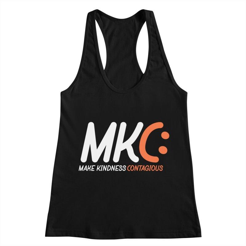 MKC Women's Racerback Tank by MakeKindnessContagious's Artist Shop