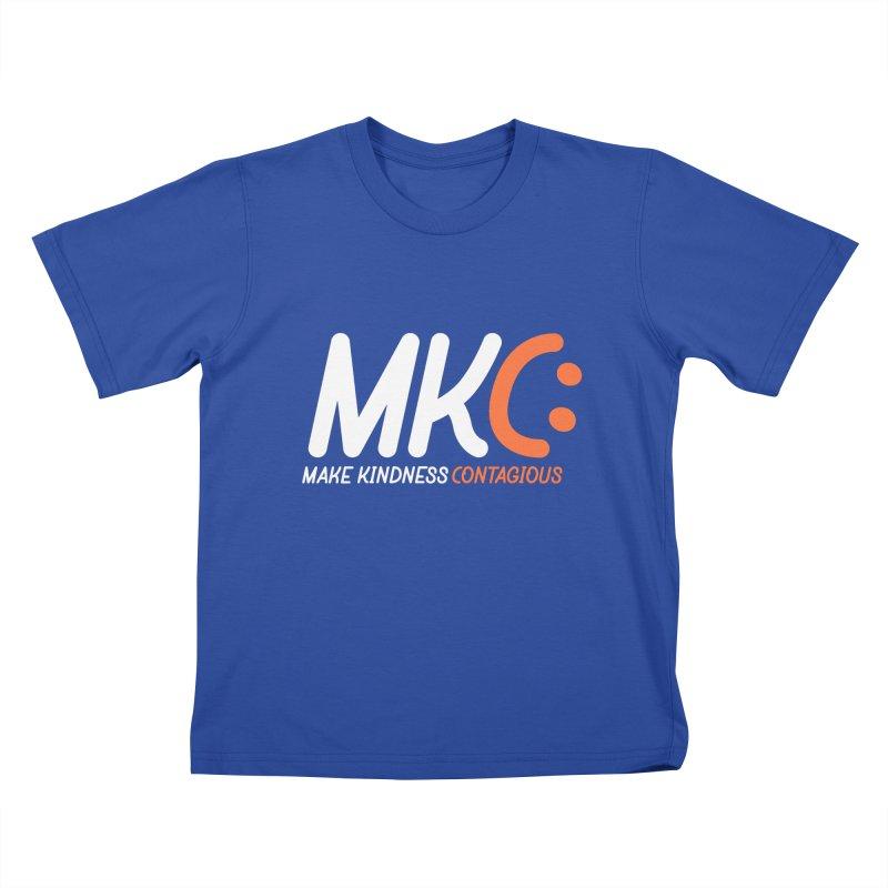 MKC Kids T-Shirt by MakeKindnessContagious's Artist Shop