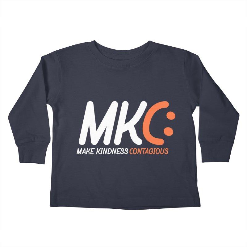MKC Kids Toddler Longsleeve T-Shirt by MakeKindnessContagious's Artist Shop