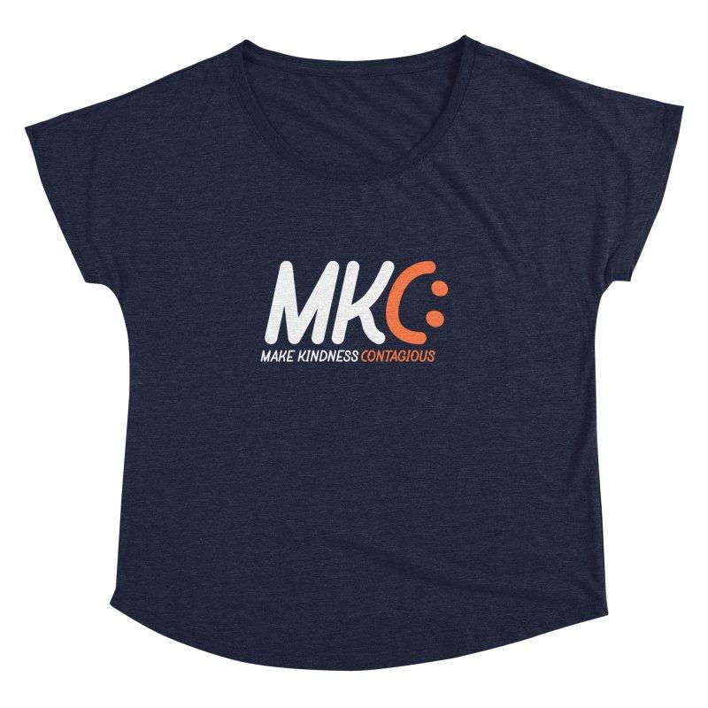 MKC Women's Dolman Scoop Neck by MakeKindnessContagious's Artist Shop