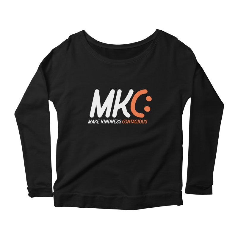 MKC Women's Scoop Neck Longsleeve T-Shirt by MakeKindnessContagious's Artist Shop