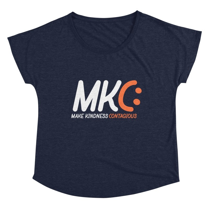 MKC Women's Dolman Scoop Neck by MakeKindnessContagious's Artist Shop