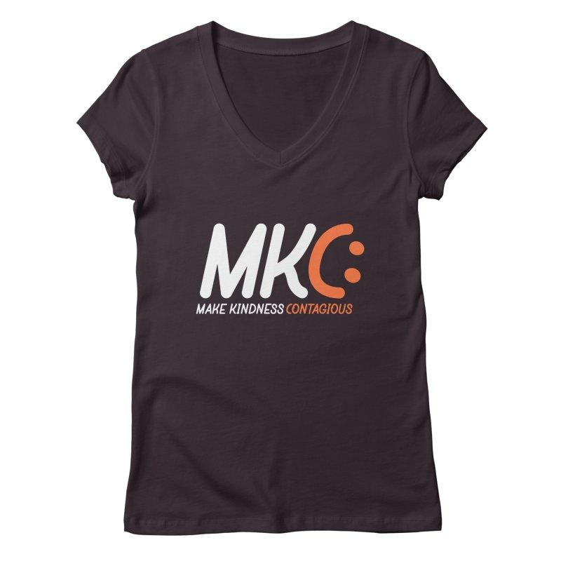 MKC Women's Regular V-Neck by MakeKindnessContagious's Artist Shop