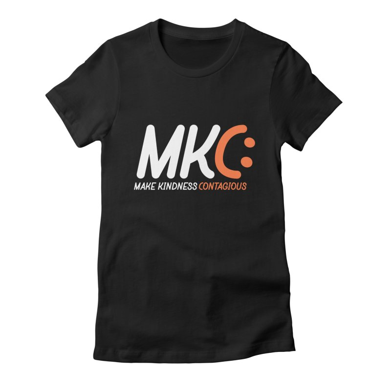 MKC Women's Fitted T-Shirt by MakeKindnessContagious's Artist Shop