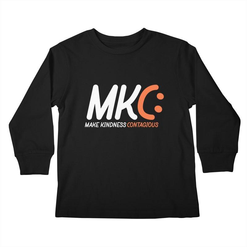 MKC Kids Longsleeve T-Shirt by MakeKindnessContagious's Artist Shop