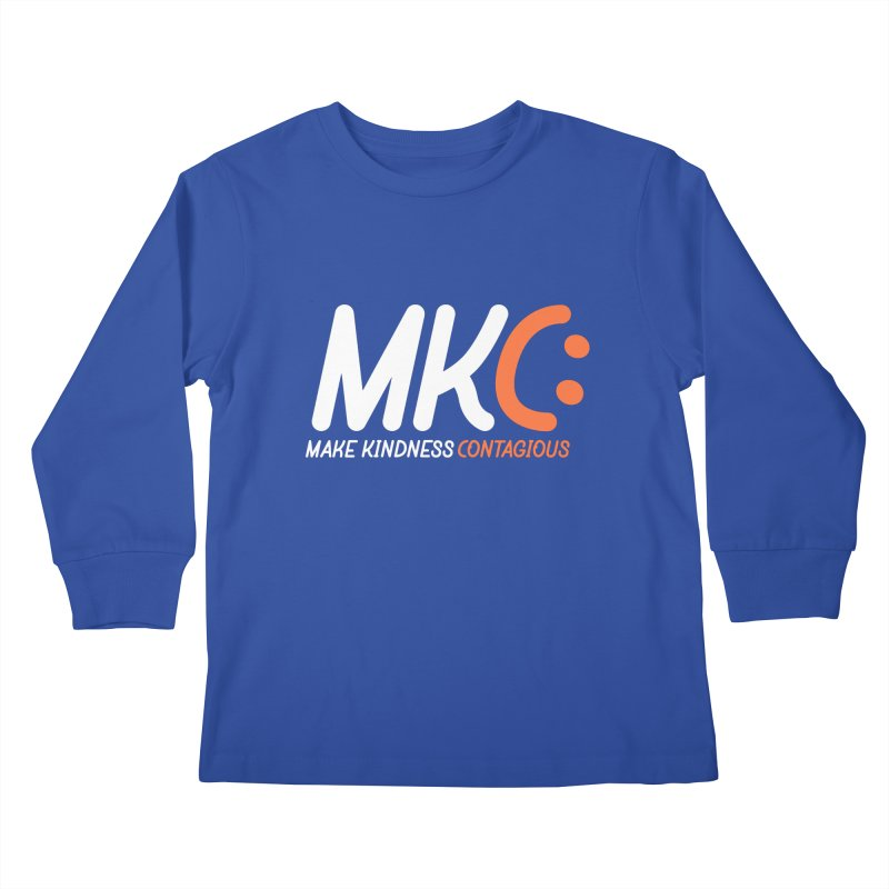 MKC Kids Longsleeve T-Shirt by MakeKindnessContagious's Artist Shop