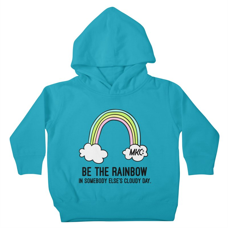Be the Rainbow Kids Toddler Pullover Hoody by MakeKindnessContagious's Artist Shop
