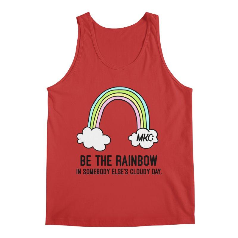 Be the Rainbow Men's Regular Tank by MakeKindnessContagious's Artist Shop