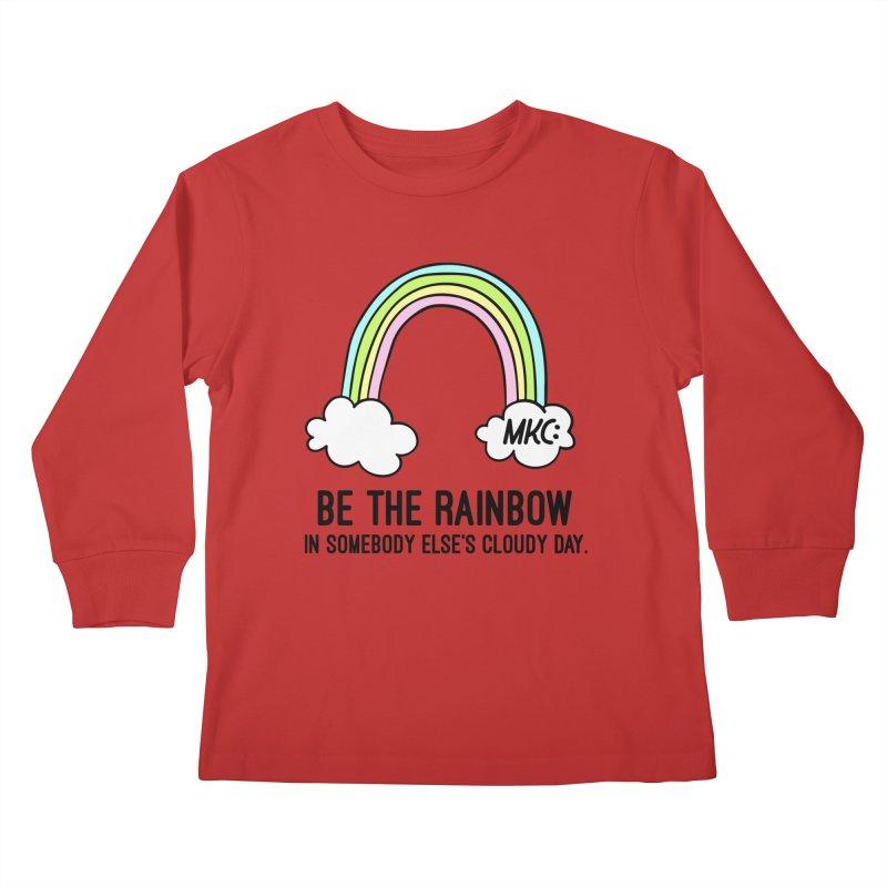 Be the Rainbow Kids Longsleeve T-Shirt by MakeKindnessContagious's Artist Shop
