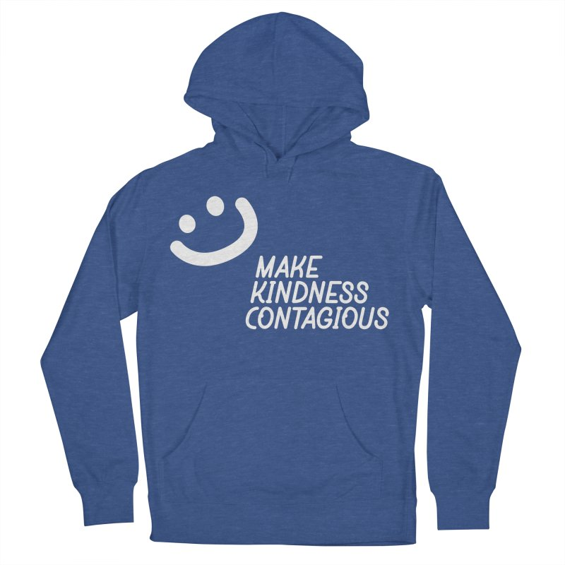 A simple smile Women's French Terry Pullover Hoody by MakeKindnessContagious's Artist Shop