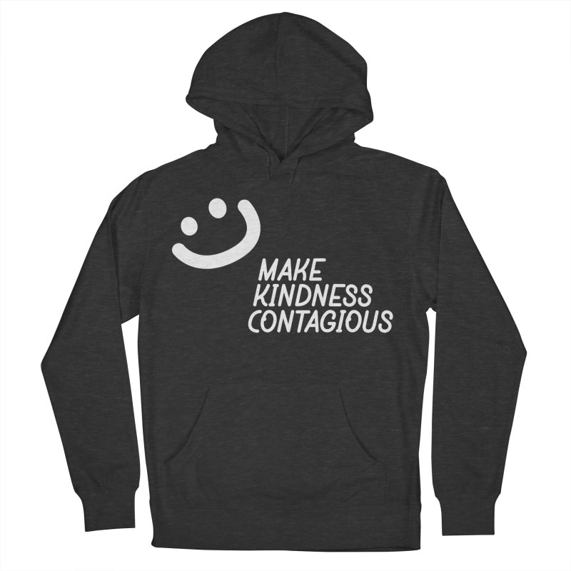 A simple smile Men's French Terry Pullover Hoody by MakeKindnessContagious's Artist Shop